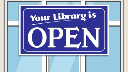 Library is Open